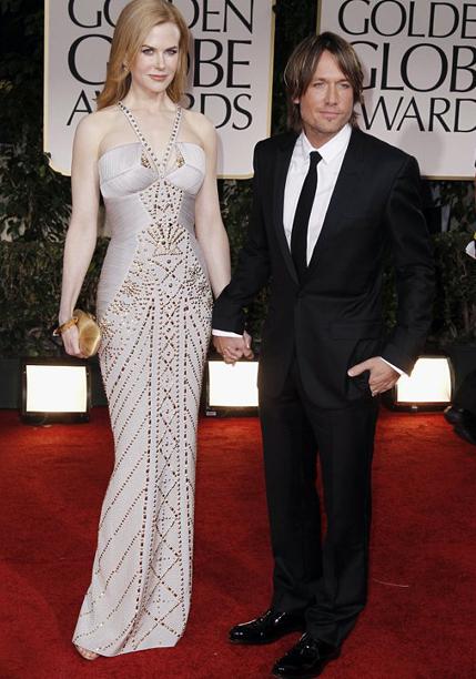 Actress Nicole Kidman & Country music singer Keith Urban