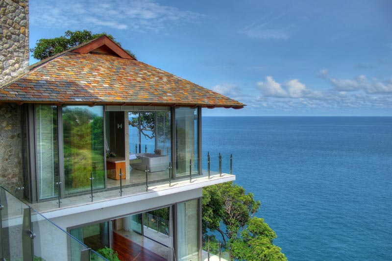 World of architecture beautiful homes on the cliff villa for Beautiful modern houses in the world