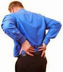 Possible causes of back pain