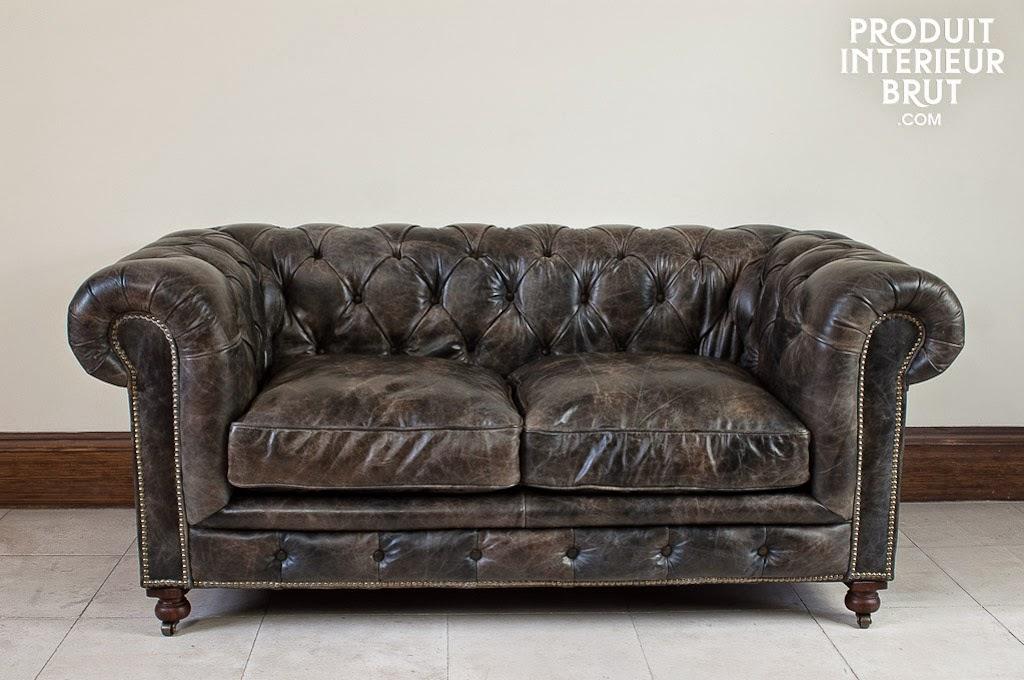Le blog belmon d co design industriel une tendance d co actuelle et vintage - Table basse chesterfield ...