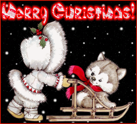 Merry Christmas Animated Card Merry Christmas Animated