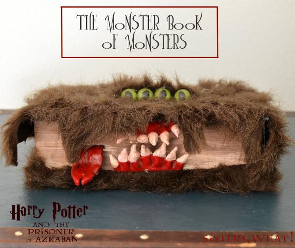 Harry Potter Book Monster : The monster book of monsters harry potter