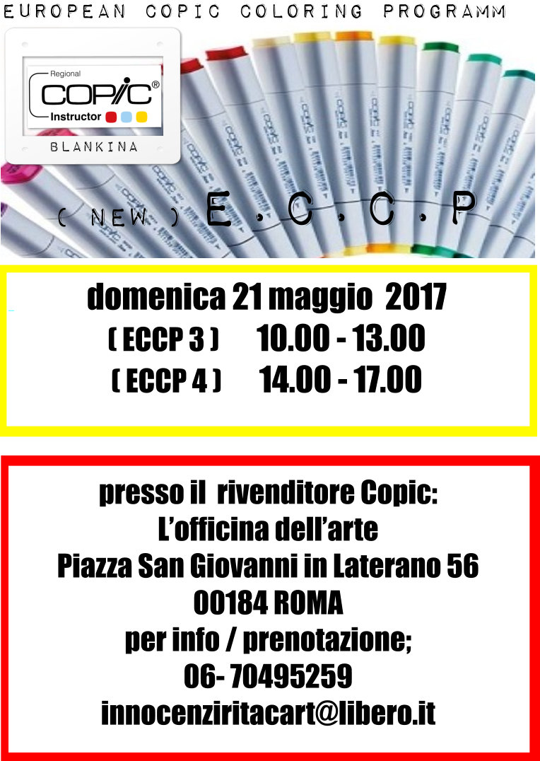 CORSO COPIC NEW ECCP 3 & 4