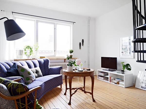 Diseño de interiores & arquitectura: apartamento de dos pisos ...