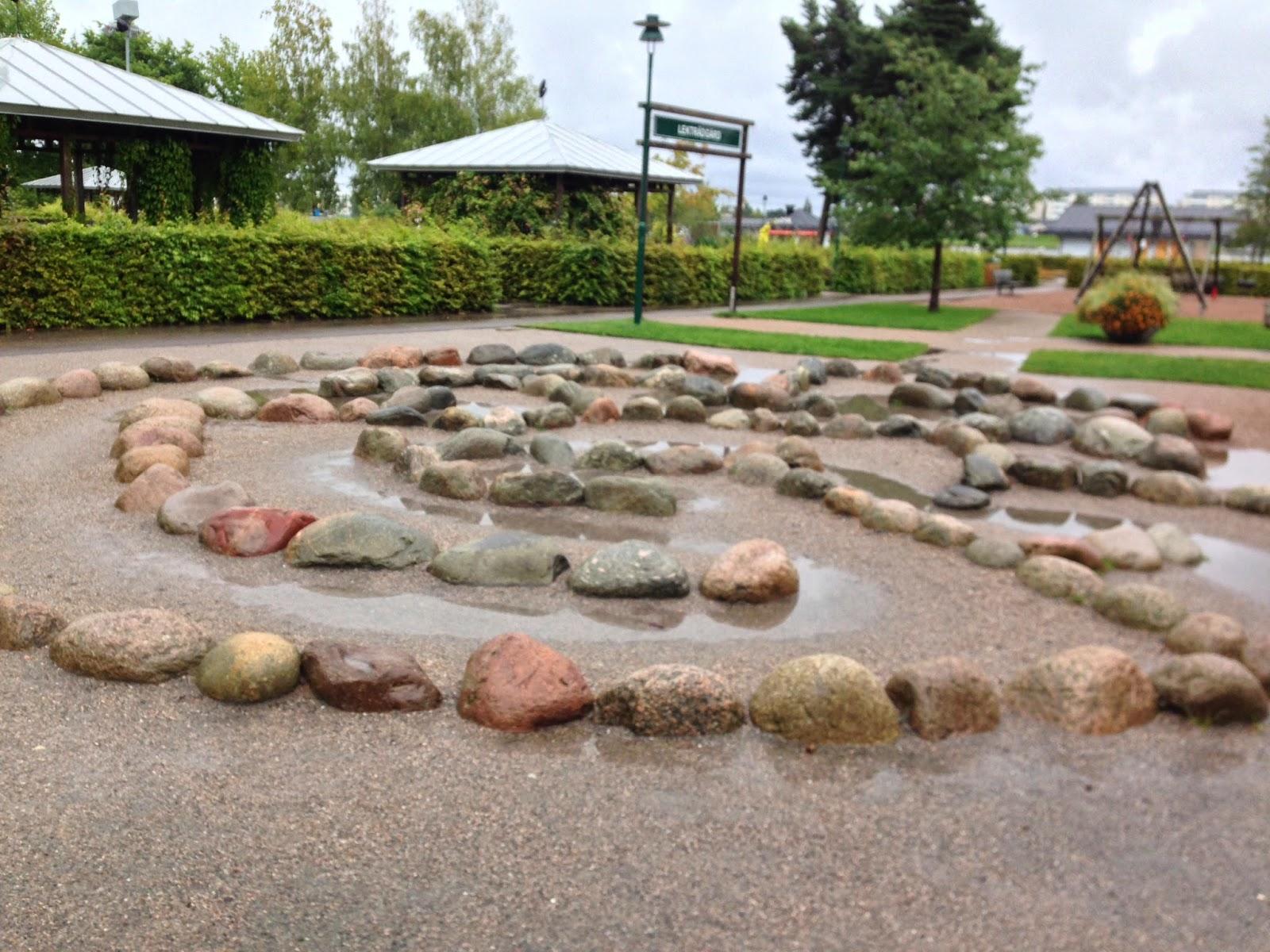 Mariebergsskogen stone maze