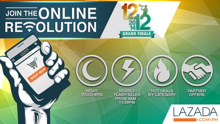 Lazada Philippines Online Revolution December 12