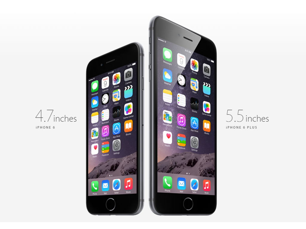 Apple launches the iPhone 6 and iPhone 6 Plus