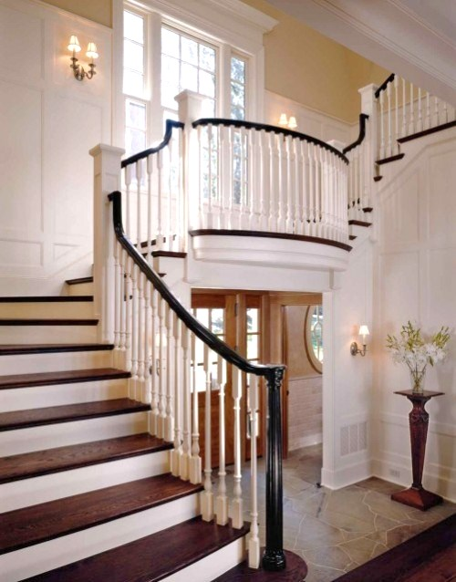 Unique design site stunning architecture staircases and for Foyer staircase ideas