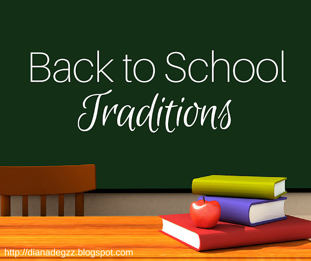 Back to School Traditions.