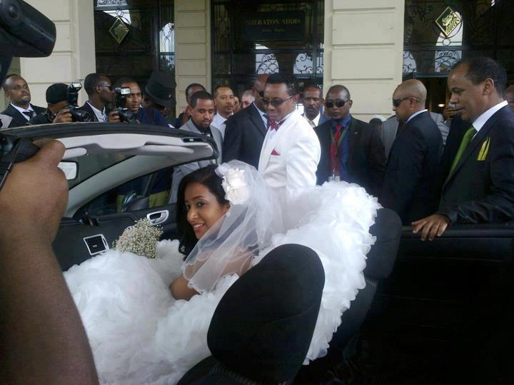 Teddy Afro Marries Amleset Muchie In Addis Ababa Durame