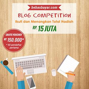 Bebas Bayar Blog Competition