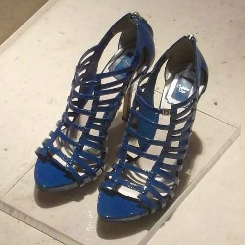 Dior női cipő divat - női magassarkú platformos nyári cipő