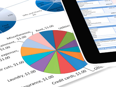 iPad for personal finance management