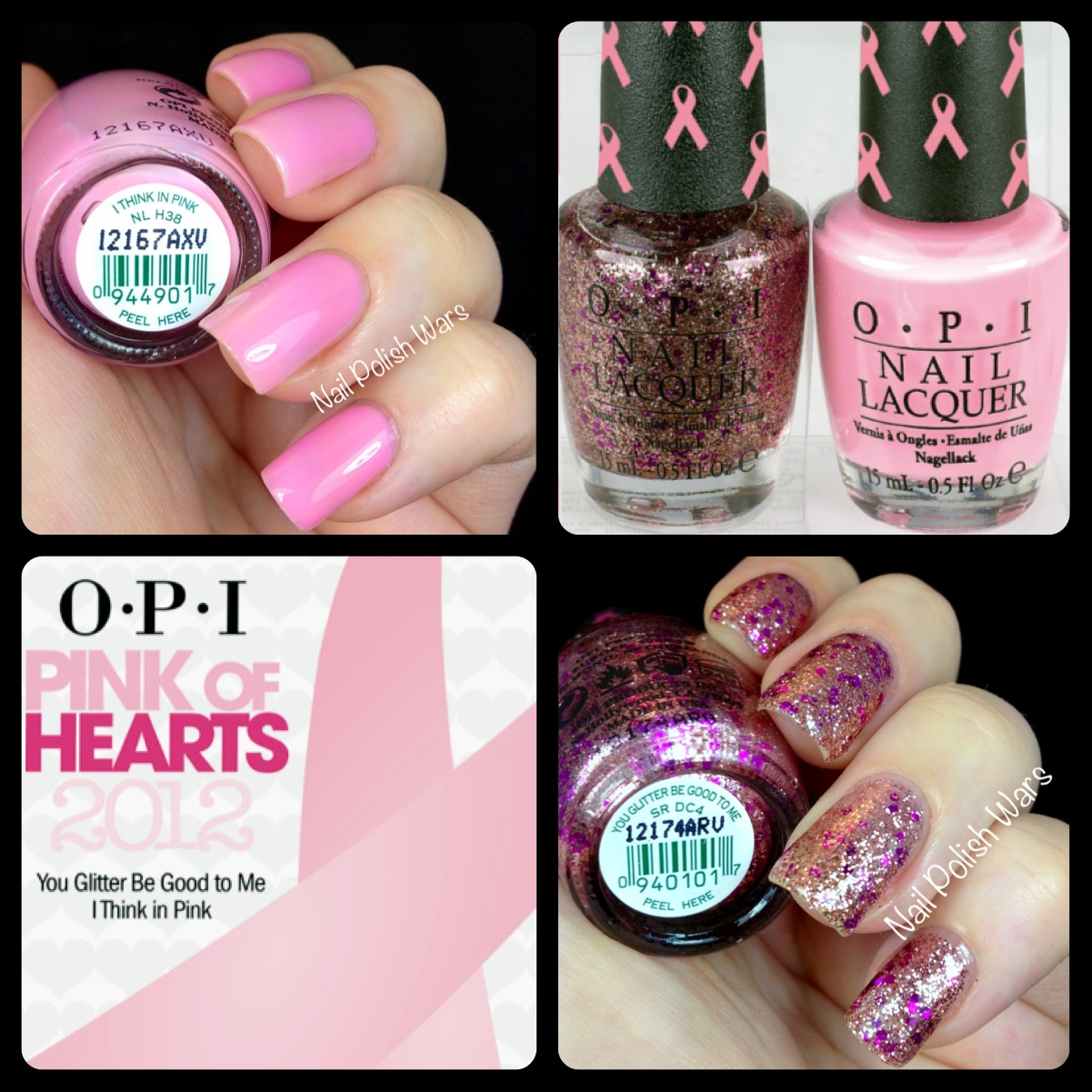 Nail Polish Wars: OPI Pink of Hearts