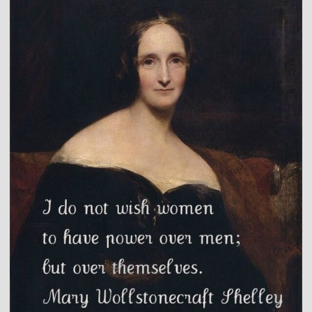 celebrating Mary Shelley in 2018