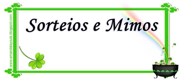 Sorteios e Mimos