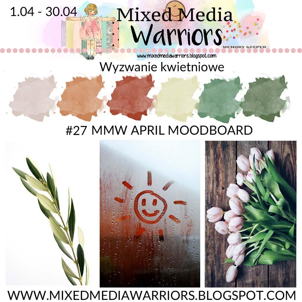 Wyzwanie kreatywne MMW #27: Kwietniowy moodboard | MMW #27 challenge: April moodboard