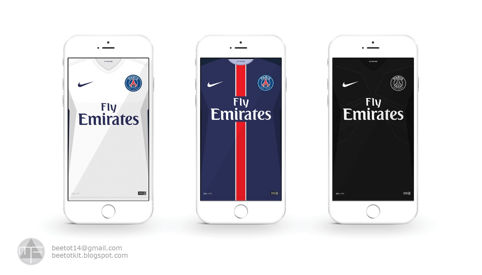 Paris Saint Germain Kit 15 16 IPhone 6 Wallpaper