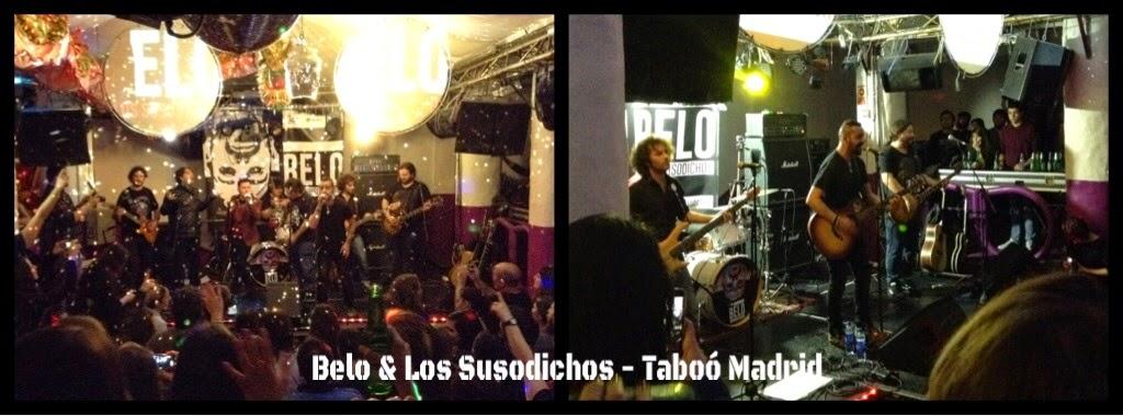Belo & Los Susodichos en concierto [MÚSICA] - Pan y Circo.