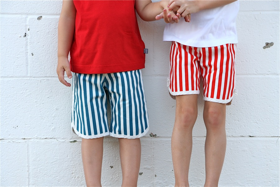 Striped KID Shorts – MADE EVERYDAY