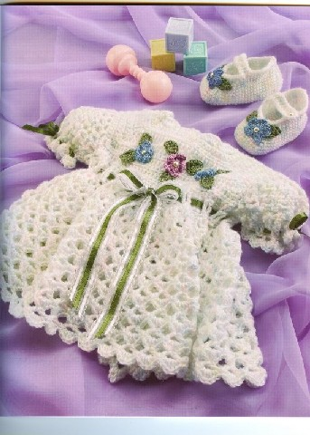 Free Crochet Patterns For Babies : Free Baby Dress Crochet Patterns ~ Free Crochet Patterns