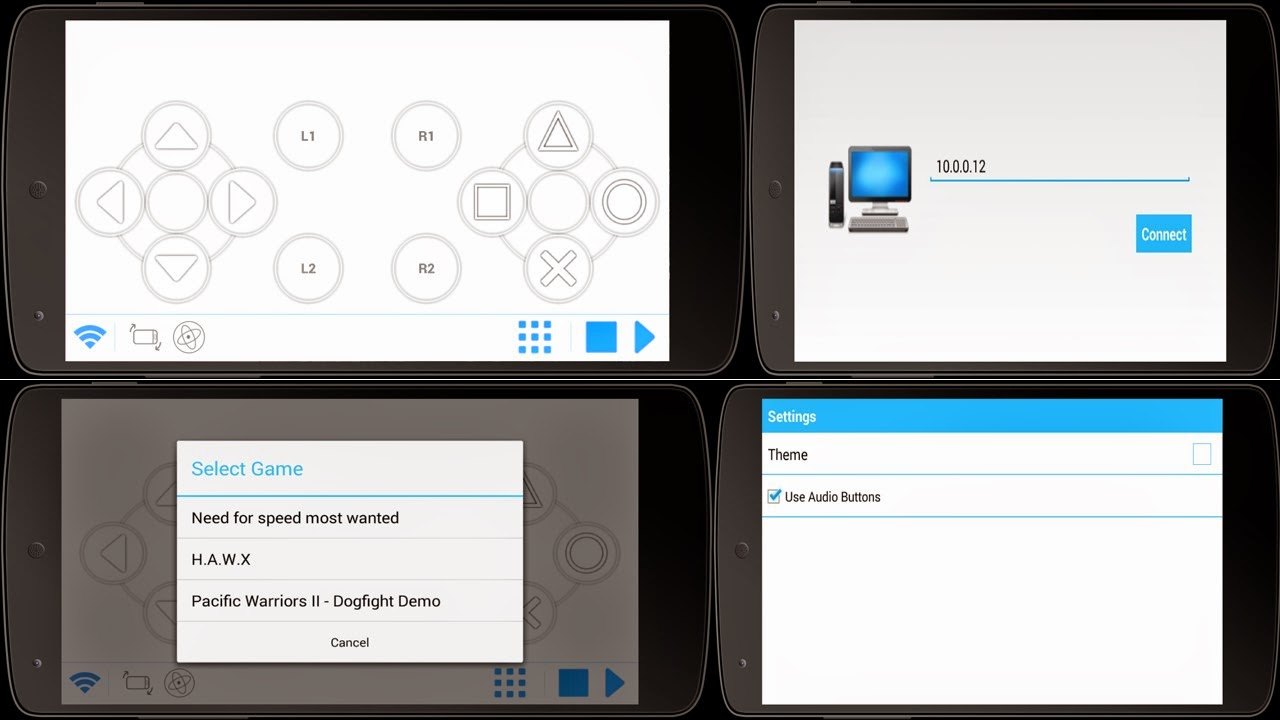 Cara Menjadikan Hp Android Sebagai Joystick di Laptop/PC ...