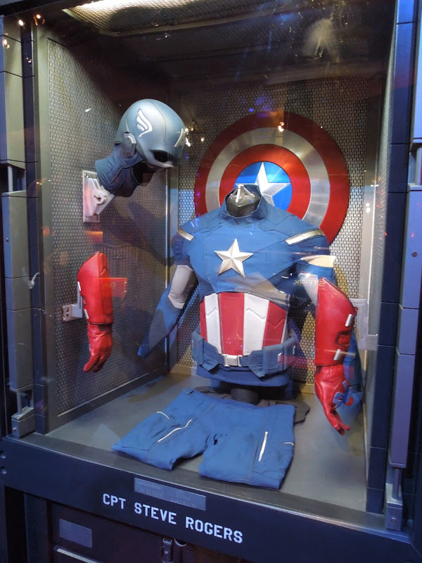 Captain America movie costume Avengers
