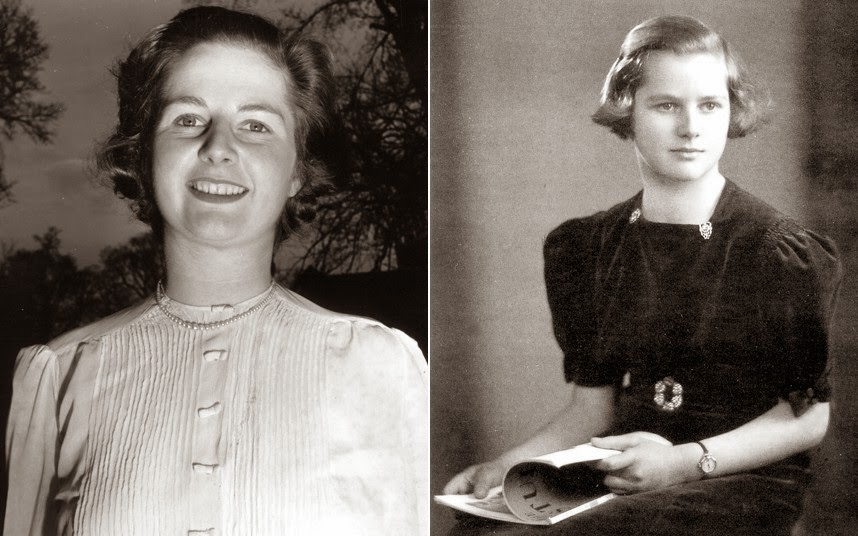 Margaret-Thatcher-Early-Life