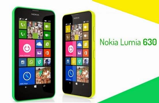 Nokia Lumia 630 e 635
