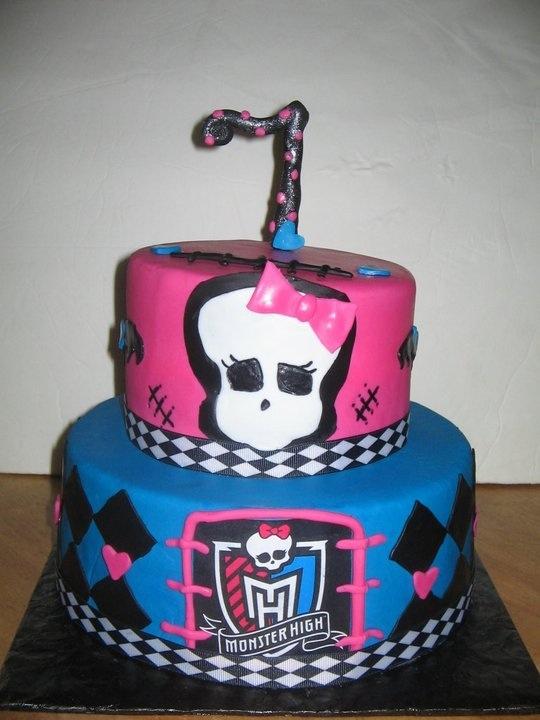 Sabtabulous Cakes Monster High Cake