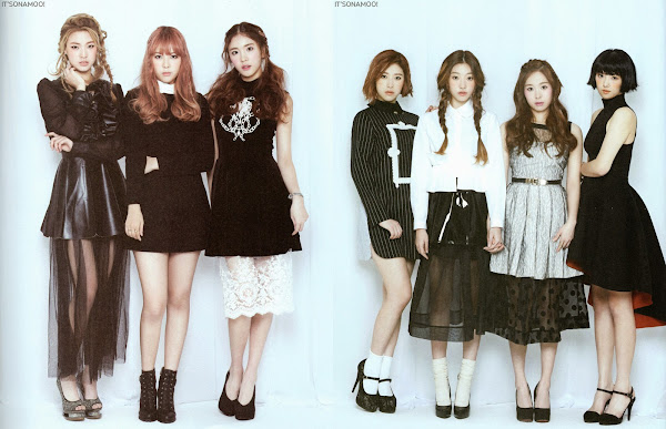 Sonamoo 1st Album Scans