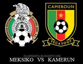 Prediksi Meksiko vs Kamerun