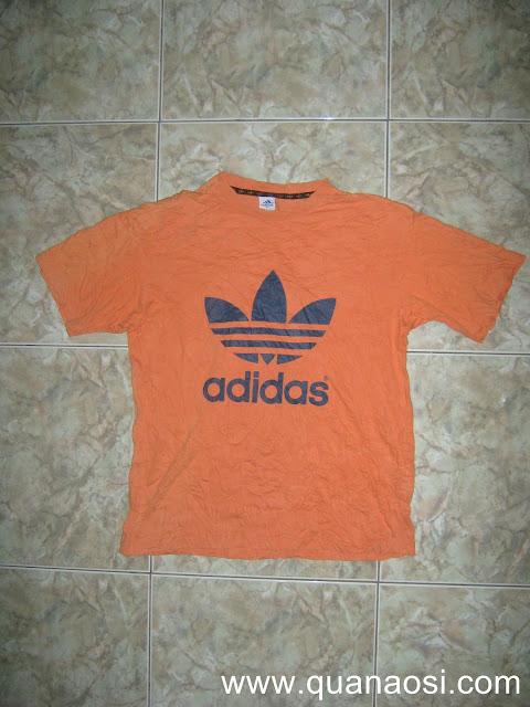 Áo thun thể thao ADIDAS màu cam đẹp 2012 80k