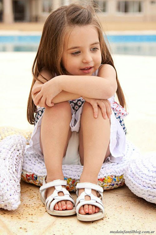 sandalias nenas verano 2014