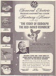Original magazine as Rudolph the Red-Nosed Reindeer 1964 animatedfilmreviews.blogspot.com