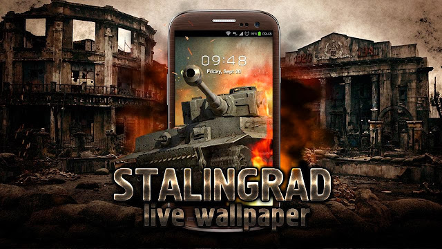 Stalingrad Live wallpaper screenshoot