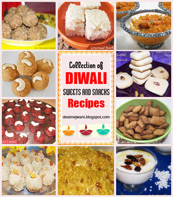 Collection of Diwali Recipes