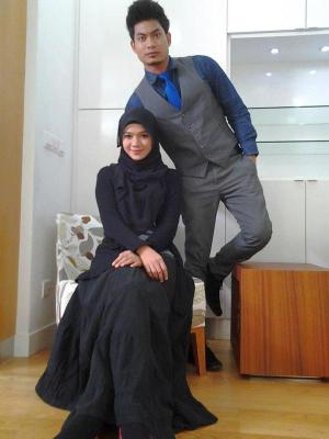 Amran Ismail dan Diana Amir Bercinta Dalam Drama
