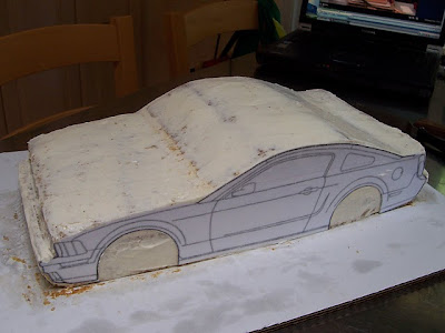 Summary 3d Car Cake Template And Tutorial Novelty Birthday Cakes