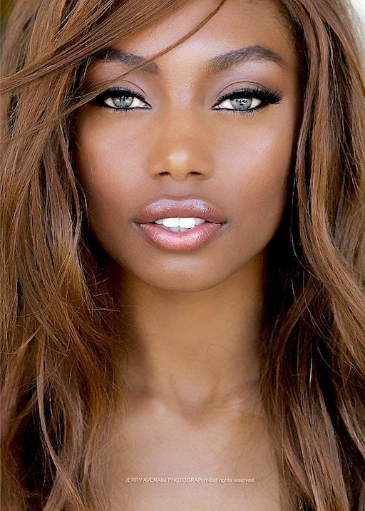The Awesome Hair Color On African American Skin Tones Intended For