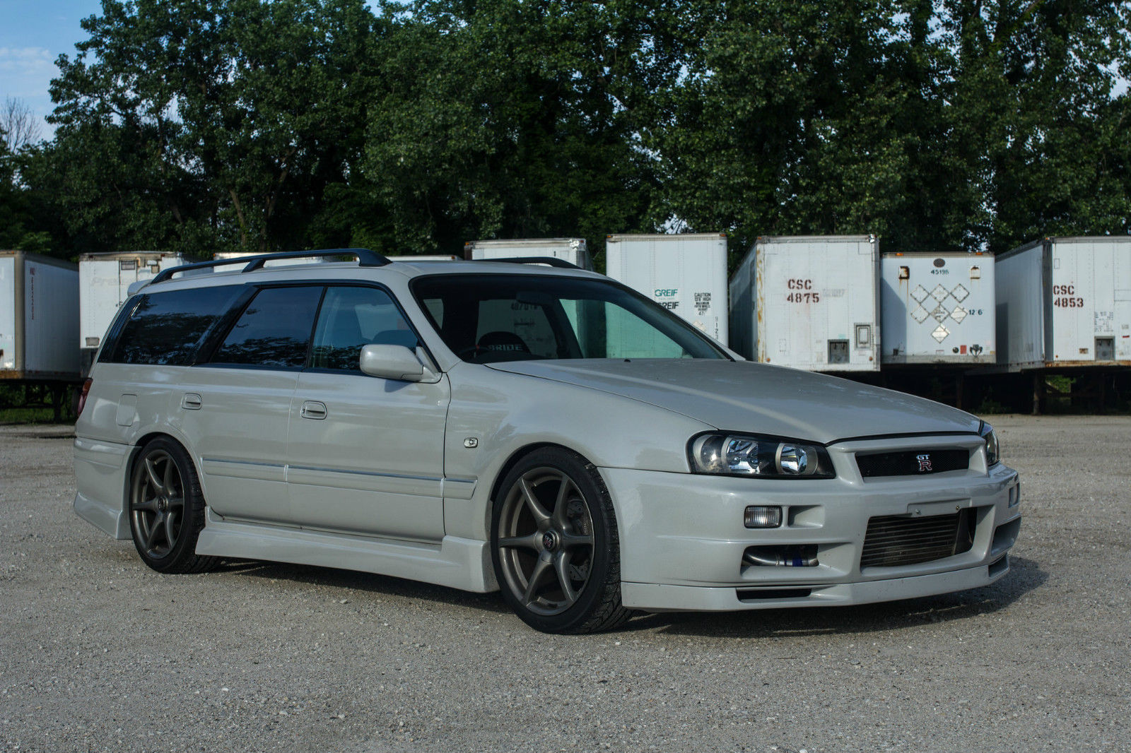 Nissan Stagea R34 GT-R Wagon Will Make You The Coolest Kid ...