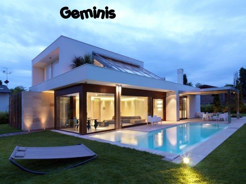 Casas fachadas manciones for Patios de casas modernas con piscina