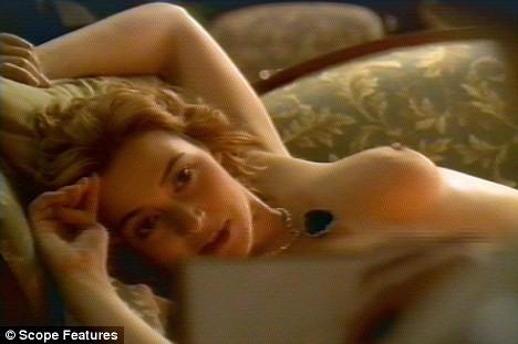 kate winslet nude scene titanik