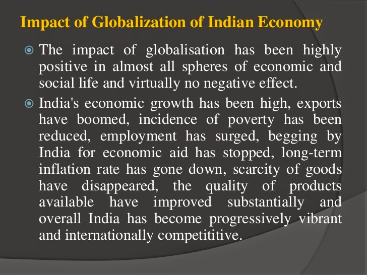 essay on indian economy effects of The introduction of heavy industries have both positive and negative impact on indian society and economy the introduction of industries have led to the decrease in.