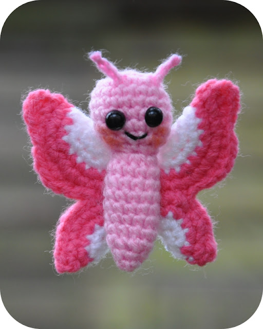 Free Amigurumi Christmas Ornament Patterns : Amigurumi Butterfly Free Pattern submited images.