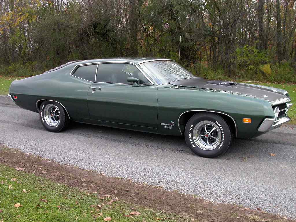 All About Muscle Car: 1970 Torino-The 50 Fastest Muscle Cars