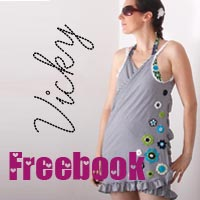 Freebook Wickelstrandkleid VICKY