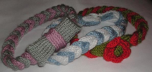 Knitting Pattern Abbreviations Rs : Knitting Galore: Cable Braided Headband.