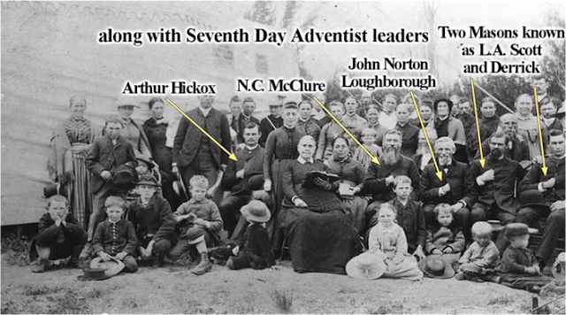 LA MASONERÍA CREÓ EL ADVENTISMO. Adventistas+26