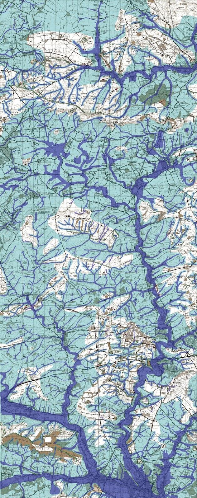 Post Glacial Flooded, Stonehenge